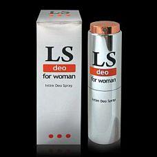 Интим - дезодорант для женщин Lovespray DEO - 18 мл.  Специальный нежный дезодорант для интимных зон. Формула дезодоранта разработана с учетом микрофлоры интимной области и не содержит спирта.