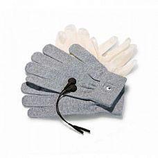 Перчатки для чувственного электромассажа Magic Gloves  Электропроводящие перчатки для электромассажа. Используются вместе с виниловыми перчатками. В комплекте: 1 пара перчаток Mystim Magic Gloves, 5 пар виниловых перчаток, 2 адаптера.
