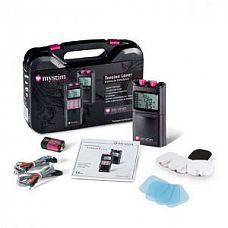 Цифровой электростимулятор Tension Lover  В комплекте:MYSTIM TENS UNIT, 2 провода, 4 самоклеящихся электрода, пластиковый чемодан,1 батарея 9 Вольт и инструкция на русском языке