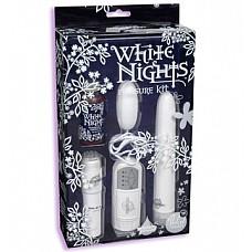 Набор подарочный WHITE NIGHTS 0949-00 BX DJ  Эротический набор из люкс-коллекции WHITE NIGHTS.