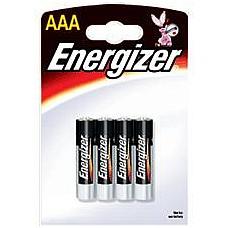 Батарейки AAA Energizer Base LR03 4 шт  Мизинчиковые батарейки Energizer типа ААА, алкалиновые.
