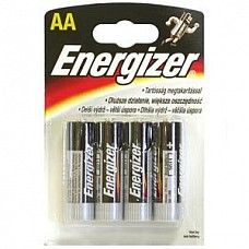 Батарейки AA Energizer Base LR6 4 шт  Пальчиковые батарейки Energizer типа АА, алкалиновые.
