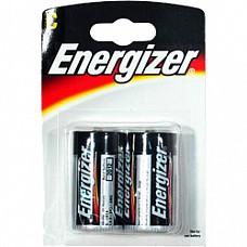 Батарейки C Energizer LR14 2 шт  Батарейки-бочонки типа С Energizer, алкалиновые.