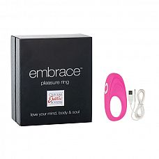 Виброкольцо Embrace pleasure rings розовое 4616-05BXSE  Виброкольцо Embrace pleasure rings розовое 4616-05BXSE Виброкольцо 4616-05BXSE № это отличное средство освежить сексуальные отношения, добавив больше острых ощущений.