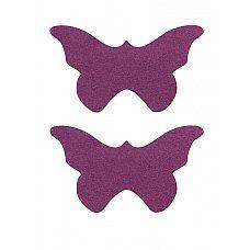 """Пестисы """"бабочки"""" фиолетовые SH-OUNS006PUR  Бабочки-пестисы   это хороший вариант для соблазнительного танца любимому и как аксессуар на грудь без нижнего белья."""