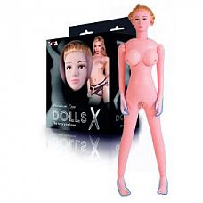 Надувная секс-кукла с реалистичной головой и конечностями  Надувная кукла, новой коллекции Dolls-X.