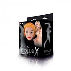 Надувная секс-кукла с реалистичной головой  Надувная кукла, новой коллекции Dolls-X.