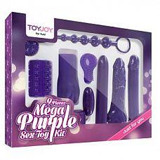 Эротический набор Toy Joy Mega Purple   Это просто ошеломительный набор секс-игрушек  -, здесь есть все, чтобы сделать Ваши ночи откровенно горячими - целых 9 потрясающих игрушек для взрослых.