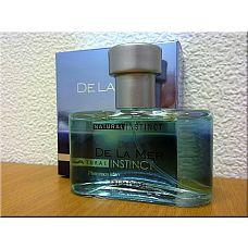 """Парфюмерная вода марки """"Natural Instinct"""" муж.""""De La Mer"""" 100мл  «De La Mer» Легкий и молодежный, , освежающий, древесно-пряный парфюм предназначен для молодых мужчин, которые живут на «волнах» своих эмоций, для тех, кого неотвратимо влечет к морю."""