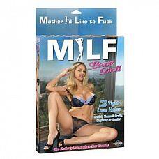 Надувная секс-кукла MILF   Надувная секс-кукла MILF. 3 любовных отверстия.