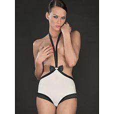 Эротические шорты с завышенной талией (Maison Close) , S, Черно-белый  Удивите своего партнера необычным сексуальным бельём.