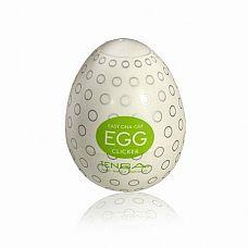 Мастурбатор-яйцо Tenga Egg Clicker  Tenga Egg Clicker обладает множеством пупырышков разного Размера.