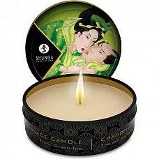 Массажная свеча Exotic Green Tea с ароматом зелёного чая - 30 мл.  Массажная свеча Exotic Green Tea с ароматом зелёного чая.