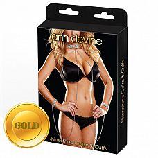 Ожерелье и браслеты Love Slave  Девушка в ошейнике и браслетах - сексуальная фантазия почти каждого мужчины, да и самой девушки! Красивый ошейник из 7 рядов кристаллов (ширина 2,5 см), длина ошейника 40 см.