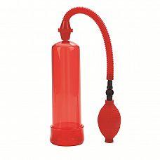 Красная вакуумная помпа Firemans Pump  Вакуумная помпа Fireman s Pump - классический сексуальный тренажер для мужчин.