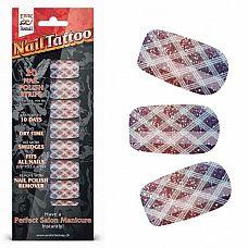 Набор лаковых полосок для ногтей Блестящий градиент Nail Foil  Набор из 20 потрясающих наклеек на ногти с лаковым покрытием, создающих эффект превосходного салонного маникюра! Простой в нанесении маникюр отлично держится до 10 дней.