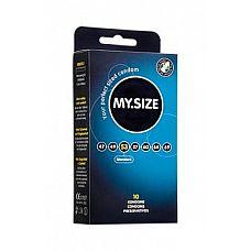 Презервативы MY.SIZE №10 Размер 53 - 10 шт.  Презервативы MY.