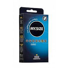 Презервативы MY.SIZE №10 Размер 64 - 10 шт.  Презервативы MY.