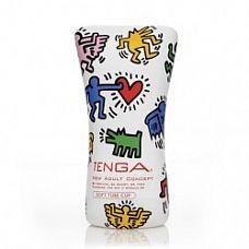 Мастурбатор Keith Haring Soft tube  Soft Tube для больших пенисов.
