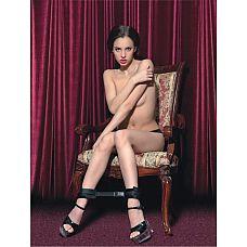 Мягкие оковы для фиксации ног или рук  Мягкие оковы  отлично фиксируют ноги партнера.
