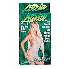 Надувная секс-кукла *Алисия*  Стоячая кукла Алисия - блондинка европейского типа, красавица-амазонка, прекрасное тело которой скрыто под прозрачной туникой. Длинноволосая и дерзкая- эта девушка возбуждает и завораживает, дарит сладкие минуты и снова счастлива служить вам.