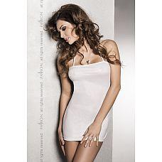Сексуальное платье с открытой спиной Beltis  Платье с открытой спиной на тонких лямочках, из эластичной ткани с  кожаным  эффектом.