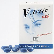Капсулы для мужчин V-Active  Активные природные вещества, содержащиеся в капсуле, являются эффективным средством для улучшения потенции без побочных действий.