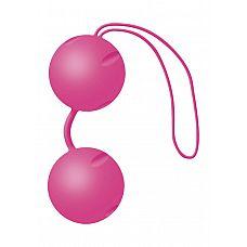 Розовые вагинальные шарики Joyballs Pink  Два шарика, внутри каждого- шарик меньшего диаметра.