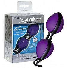 Фиолетовые вагинальные шарики Joyballs secret   Уникальная вагинальные шарики высочайшего качества.