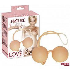 Вагинальные шарики Colours Nature Skin  Шарики для тренировки вагинальных мышц.
