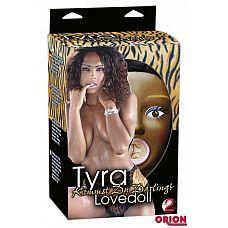 Темнокожая секс-кукла TYRA  Разве она не похожа на чистое соблазнение? Тайра - темнокожая, страстная кукла любви, которая желает только Вас! В натуральную величину с тремя отверстиями (рот, влагалище, задний проход) и темные волосы.