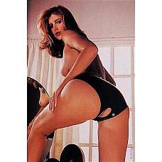 Сексуальные трусики с вырезом Latex Panties Open Crotch   Сексуальные трусики с вырезом в промежности.