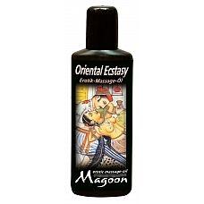 Масло массажное Magoon Oriental Ecstasy - 100 мл.  Массажное масло с экстрактом жожоба и длительными скользящими свойствами.