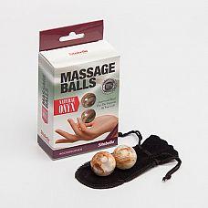 Вагинальные шарики из натурального камня  Оникс   Массажные шарики из натурального камня оникс - универсальный тренажер для максимально эффективной тренировки интимных мышц.