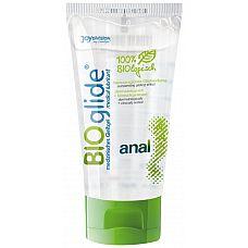 Лубрикант на водной основе BioGlide Anal - 80 мл.  Гель-смазка на водной основе для анального применения, без запаха. PH нейтральна.
