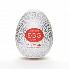 Мастурбатор-яйцо Keith Haring EGG PARTY  Это игрушка, вошедшая в новую линейку мастурбаторов от японской компании Tenga.