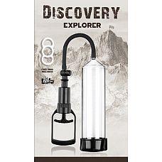 Вакуумная помпа Discovery Explorer 6903-00Lola  С вакуумной помпой Explorer от Lola Toys эрекция будет тверже и продолжительнее.