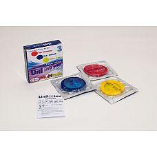 Презервативы Unilatex Multifruits 3 шт 3003Un  Упаковка 3 шт.