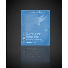 Увлажняющая смазка на водной основе Water Glide - 3 мл.  Революционный лубрикант от компании Viamax призван увлажнить и смягчить кожу интимных органов, обеспечивая не только надлежащий уход, но и длительное скольжение во время секса.