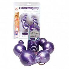 Двусторонний фиолетовый вибромассажёр Purple Goddess  Двусторонний фиолетовый вибромассажёр Purple Goddess.