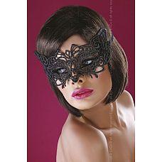 Широкая, закрывающая нос ажурная маска  Широкая, закрывающая нос ажурная маска - это очаровательное дополнение любого образа.