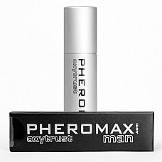 Концентрат феромонов для мужчин Pheromax Oxytrust for Men - 14 мл.  Концентрат феромонов Pheromax Oxytrust for Men совершенно не имеют запаха, однако действуют на женский организм совершенно по-волшебному, вызывая у дамы сексуальное желание.