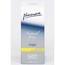 Natural Spray Extra Strong мужские духи с феромонами 10мл  Сверхсильный спрей «Hot Natural Spray extra strong» с нейтральным ароматом комбинируется с любым парфюмом.