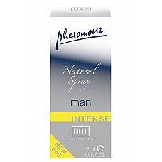 Natural Spray Intense мужские духи с феромонами 5мл  Мужские духи с феромонами Natural Spray Intense с нейтральным ароматом комбинируется с любым парфюмом.