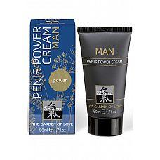 Penis Power Cream Man крем стимулирующий для мужчин 50мл  Особая комбинация из компонентов, улучшающих кровообращение и заботящихся о коже.