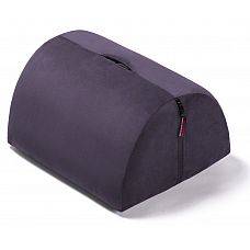 Фиолетовая секс-подушка с отверстием для игрушек Liberator R-BonBon Toy Mount  BonBon   одна из лучших подушек для развлечений с секс-игрушками.