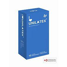 Презервативы Unilatex Natural Plain 12 шт +3 шт в подарок 3013Un