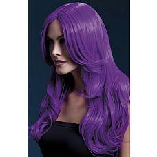 Сиреневый парик с длинной челкой Khloe  Сиреневый парик с длинной челкой Khloe в один миг сделает вас безудержной бунтаркой, добавив ярких красок в образ.
