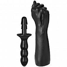 Рука для фистинга The Fist with Vac-U-Lock  Compatible Handle - 42,42 см.  Крупный по размеру и диаметру фаллоимитатор, подходит для использования с любой системой Vac-U-Lock , имеет полностью совместимое крепление.