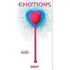Розовый вагинальный шарик Emotions Roxy  Вагинальный шарик Roxy легко и приятно использовать для интенсивной тренировки влагалища и массажа внутренних областей малого таза.